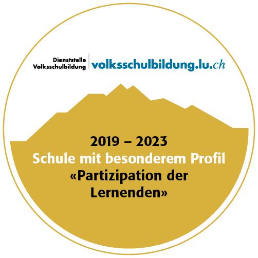 2019 – 2023 Schule mit besonderem Profil - Partizipation der Lernenden.